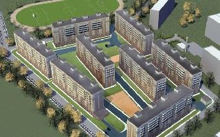 Планировка Однокомнатная квартира площадью 34.39 кв.м в ЖК «Вариант»